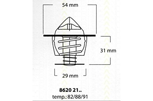 Triscan 8620 2188 -  Termostato, Refrigerante