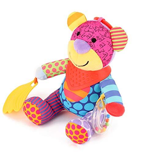 Plüsch-Teddybären Babybett hängende Spielwaren, Kinderwagen, Spielzeug Autositz Bett, Neonatal Entwicklungsaktivitäten Spielzeug, Unique Travel Rasseln hängenden Plüsch-Spielzeug