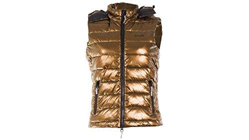 iFLOW Herren Gold Vest-Limited Series Man Weste Nugget Gold - Platinum grau