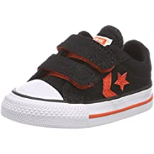 Converse Star Player Ev 2v OX Black/Gym Red/White, Zapatillas Unisex Niños