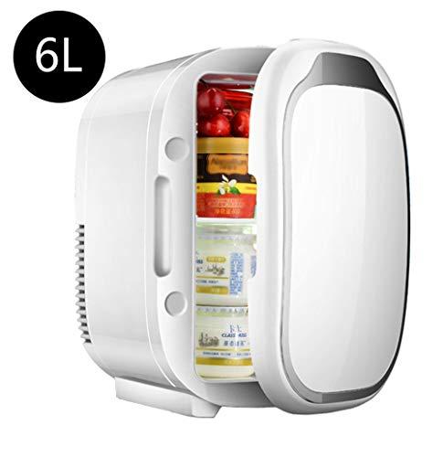 SHENGY Mini-Kühlschrank, 12 V Auto Reisekühler, Kühlung und Heizung, für Arzneimittel, Babymilch, Lagerung von Lebensmitteln, Camping (Camping-lebensmittel-heizung)