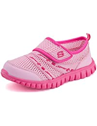 Eagsouni® Unisex-niños Malla transpirable velcro/Zapatos del ocio/Peso ligero transpirables zapatillas