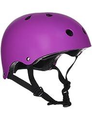 SFR Essentials Helmet - Matt Fluo Purple