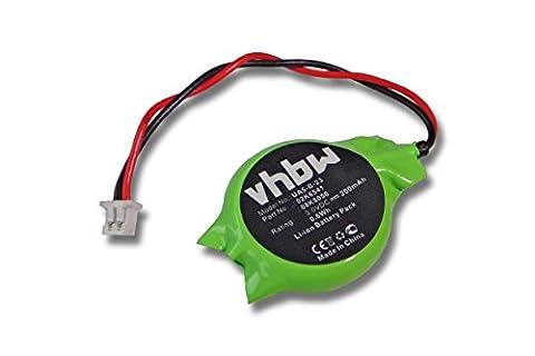 vhbw Bios Batterie 200mAh 3V Notebook IBM Lenovo Thinkpad A30P A31P R40 R40e R50 R50e R50p R51 R52 R60 R60e T20 T21 T22 T23 T30 T40 T41 T42 T43