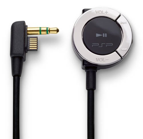 PSP Remote Control 2000 black
