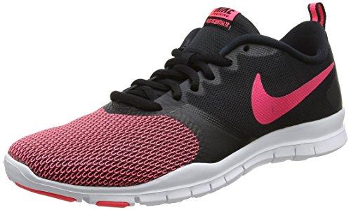 Nike Damen Flex Essential TR Fitnessschuhe, Schwarz (Black/Racer Pink-Anthracite 006), 39 EU