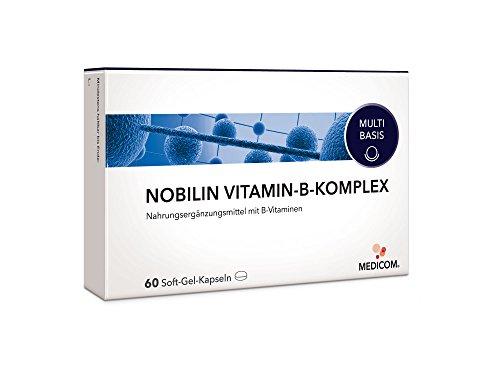 NOBILIN VITAMIN-B-KOMPLEX - 60 Soft-Gel-Kapseln