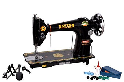 Naveen 2151245 Manual Sewing Machine (Metallic Black)