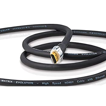 Oehlbach Matrix Evolution HS HDMI Cable with Ethernet