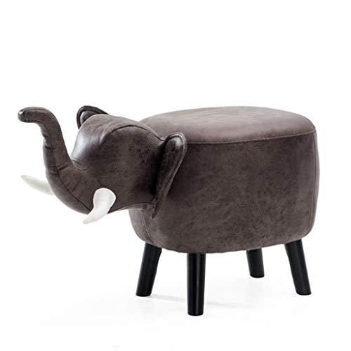 TTZ Kleine Sitzkinder-Elefant-Sofa-Bank, Kunst-Karikatur-tragbare kleine Bank Wohnzimmer/Kinderzimmer (Color : C-pu) -