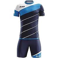 Kit Zeus Lybra Uomo Blu-Light Royal-Bianco Completino Completo Calcio  Calcetto Torneo Scuola 0e070410c9e7