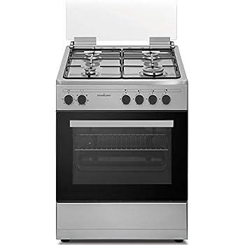 Cucina a Gas con Forno Elettrico Ventilato Multifunzione con Grill ...