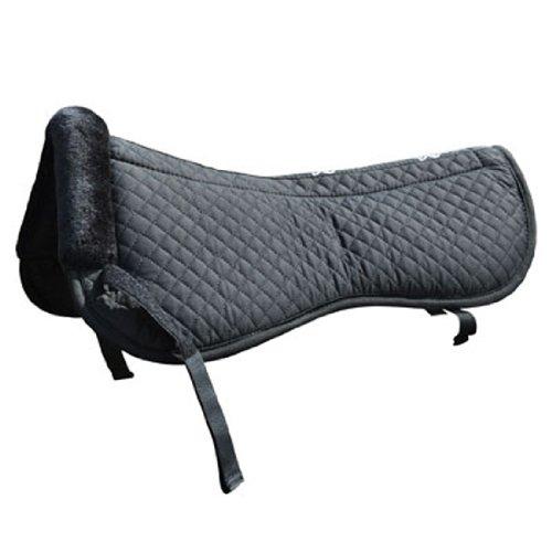 Preisvergleich Produktbild Intrepid International Half Pad mit Steppung und Maxtra Schaumstoff innen,  schwarz