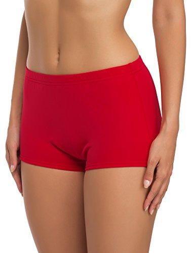 Merry Style Shorts Bañadores Deportivos Trajes de Baño Mujer Modelo L23L1 Rojo 4186, 60