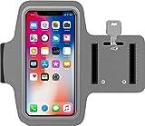 Sportsocken für iPhone 7 Plus, aus Neopren, Rutschfest, mit Schlüsseltasche, für Sport und Laufen, iPhone 7 Plus