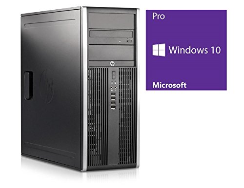 C | HP Elite 8300 CMT | Core i5-3470 @ 3,2 GHz | 4GB DDR3 RAM | 250GB HDD | DVD-ROM | Windows 10 Pro vorinstalliert (Generalüberholt) ()