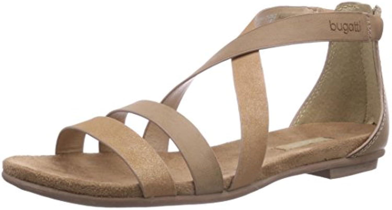 XIE Zapatos de mujer Cuero Tobillo Correas Roma Vestir Tacón de aguja Fiest Club Sandalias Tamaño 35 a 44 , EU36 GOLD-EU36