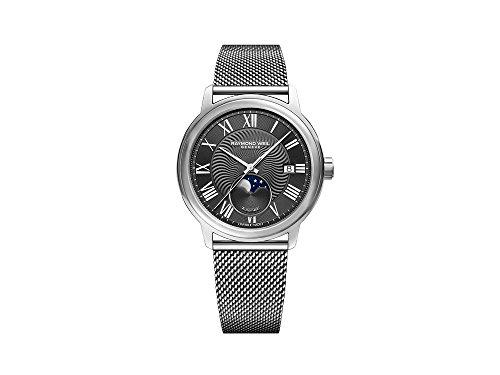 Reloj Automático Raymond Weil Maestro, 40 mm, Día, Fase Lunar, 2239M-ST-00609