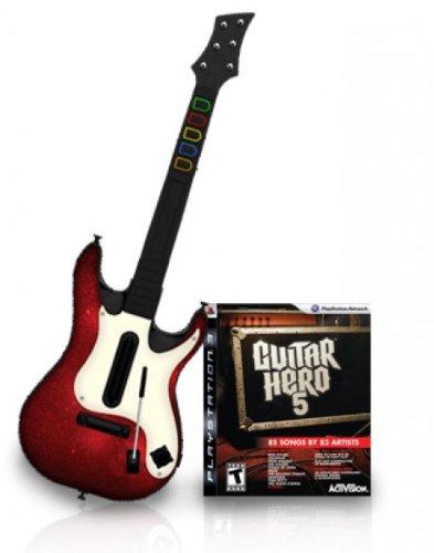 Guitar Hero 5 - Guitar Bundle Guitar Hero Gitarre Ps3-bundle