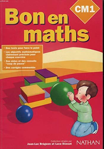 Bon en maths, CM1