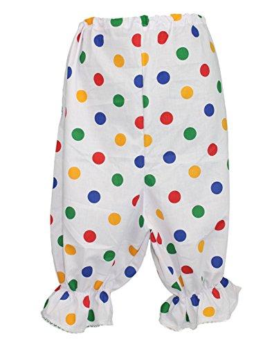 Multi Colour Polka Dot Adult Size Bloomers Size 8-16 Pudsey Children In Need Fancy Dress (Pudsey Bear Fancy Dress Kostüm)