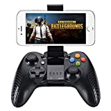 UWYSTON Wireless Android Game Controller for iOS iPhone/Ipad/Android Phone Controller Wireless Controller Gamepad for Android Mobile Tablet PC(Black)