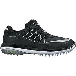 Nike Lunar Control Vapor Zapatillas Deportivas de Golf, Mujer, Negro (Black/Metallic Silver/White), 41 EU