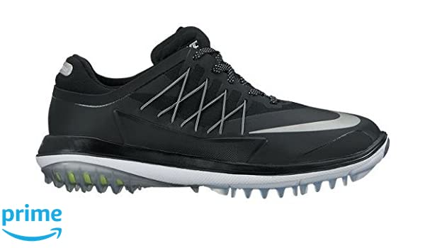 new product d7053 9db48 Nike Women s Lunar Control Vapor Golf Shoes, (Black Metallic Silver White),  3 UK  Amazon.co.uk  Sports   Outdoors