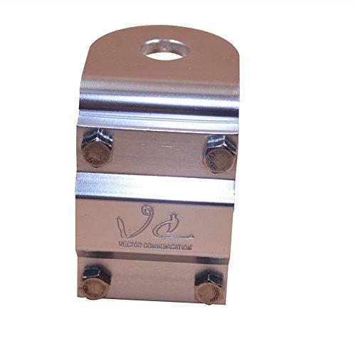 VECTORCOM Spiegel-Halterung, 3Wege Aluminium mit Bolzen für CB-/Amateurfunk-Antenne Halterung–TS03