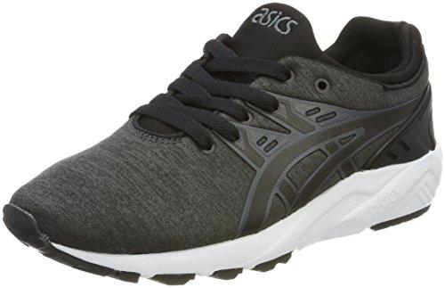Asics Gel-Kayano Trainer Evo, Sneakers Basses Mixte Adulte Gris (Dark Grey/Black)