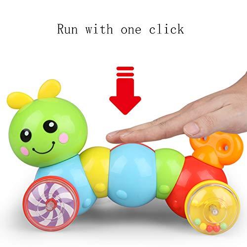 ZHAOHUIFANG Spielzeug 1-2 Jahre Alt Baby Krabbelspielzeug Eltern-Kind Spielzeug Raupe Kleinkinder 6-12 Monate Früherziehung, Klettern Lernen, Spielzeug