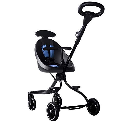 Jhshengshi carrozzina,carrozzina bambola - carrozzina giocattolo - passeggini da jogging - passeggini e carrozzine - carrozzina per bambole alta - passeggini leggeri età 0-3 anni, b