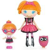 Mini Lalaloopsy - Bea Spells a lot & Specs Reads a lot - Mini Doll 7,5cm
