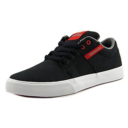 Supra Ellington, Sneakers basses homme noir/rouge/blanc
