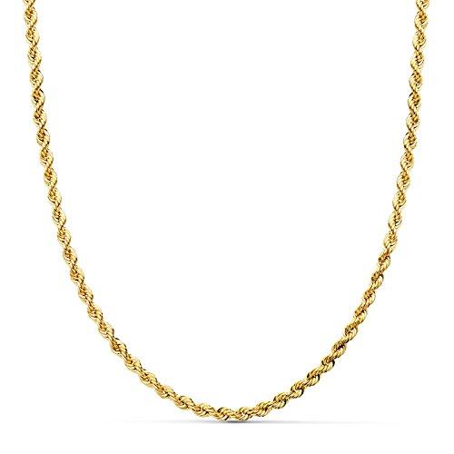 Cordón Salomónico Ligero Oro amarillo 18k 50cm 3mm