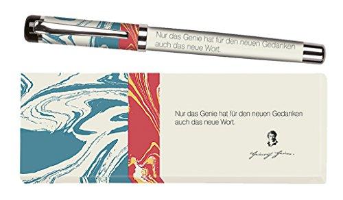 moses. 81592 libri_x Tintenroller Heinrich Heine, Tintenschreiber mit austauschbarer Mine, in einer...
