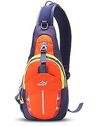 6b148fdd7d FANDARE Sling Bag Monospalla Borse a Spalla Zaino Tracolla Crossbody Bag  Hiking Bag Ciclismo Borsello Marsupio Zainetto Uomo…