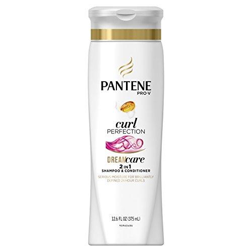 Pantene Shampooing et Après-shampooing hydratant 2 en 1 Pro-V Dry to Moisturized - Hydrate, contrôle les frisottis et définit les boucles - Pour cheveux bouclés - 372 ml
