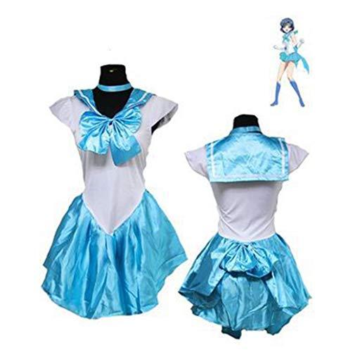 Der Krieger Kostüm Königin - XSQR Halloween Schönes Mädchen Kleidung Milchseide Halber Körper Rock Krieger Cos Spiel Uniform,006,M