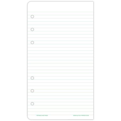 üttert Note Pads für Organizer, 33/4x 63/4 (Daytimer Refills 2015)