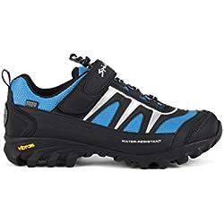 Spiuk Compass MTB - Zapatillas unisex, color negro / azul, talla 39