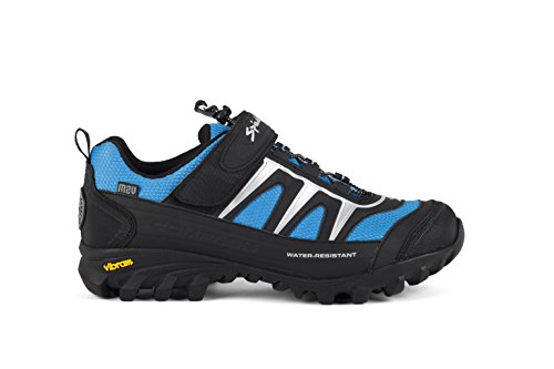Spiuk Compass MTB - Chaussures, Mixte noir / Bleu