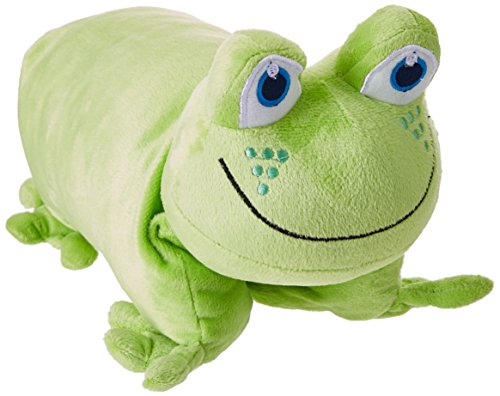 go-travel-kids-faltbares-froschkissen-green