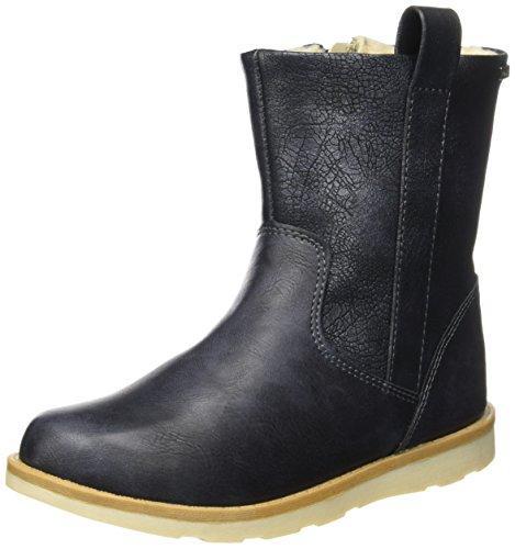 Canadians Mädchen 464 045 Biker Boots, Blau (Navy), 35 EU
