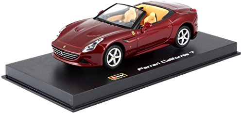 Bburago Maisto France- Ferrari California T Open Signature Séries, 36903, Rouge, Echelle 1/43
