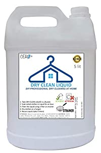 CERO Dry Clean Liquid DIY Professional Dry Cleaning at home (5lit)