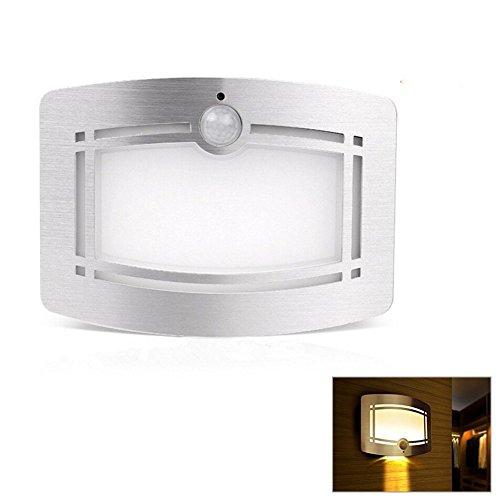 LED Veilleuses avec batterie de lumière détecteur de mouvement Lampe de nuit,Lampe de nuit Lanterne de Camping Solaire Lampe tactile LED Éclairage de Secours Lumière Mini Lampe Torche Solaire