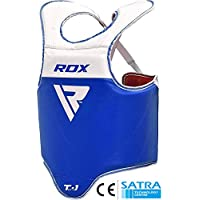 RDX MMA Boxeo Vientre Protección De Cuerpo Taekwondo Para Pecho Peto Taekwondo