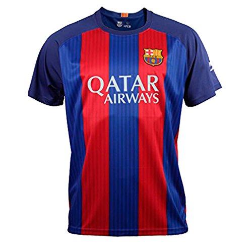 REPLICA AUTORIZADA FC Barcelona. Camiseta 1ª Equipación Adulto 2016-2017, NEYMAR. Talla XL. (En caso de duda sobre el artículo, solicitar información adicional.)