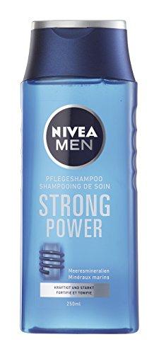 Nivea Men Pflegeshampoo Strong Power, Doppelpack, 1er Pack (1 x 500 ml)